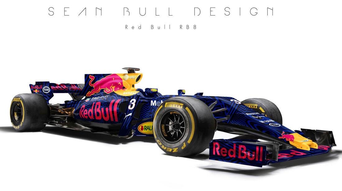 Red Bull - F1-Designs 2017 - Sean Bull - Formel 1