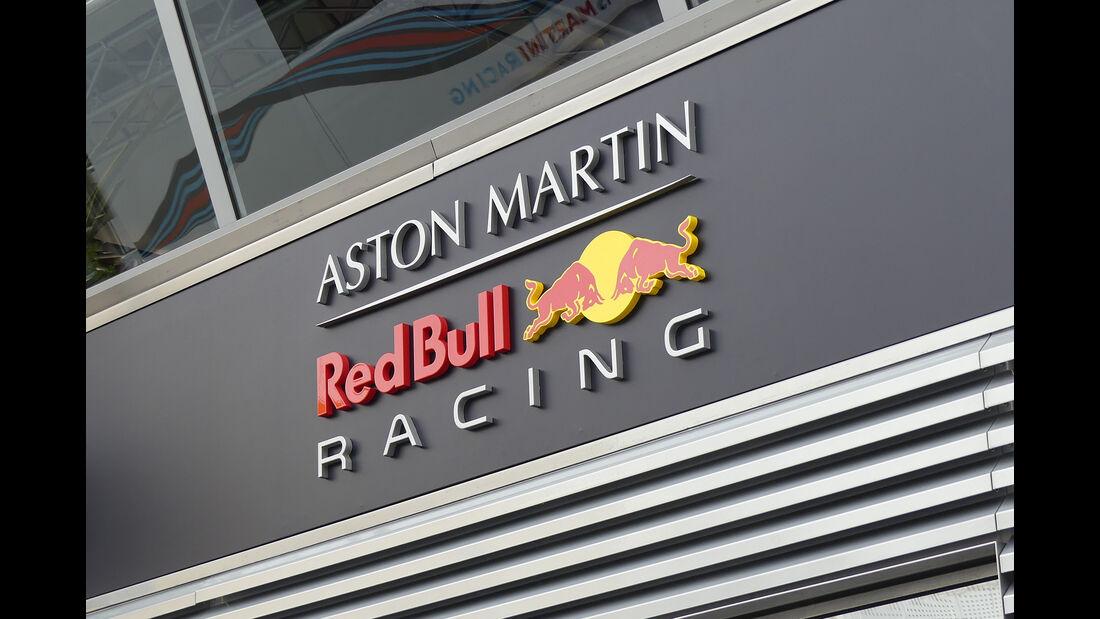 Red Bull - F1-Motorhomes - GP Spanien 2018
