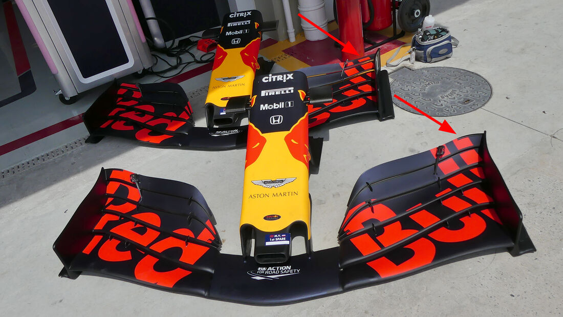 Red Bull - F1-Technik 2019 - Frontflügel