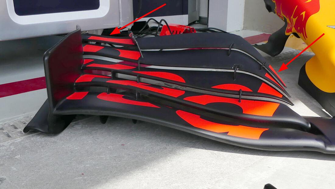 Red Bull - F1-Technik 2019 - Frontflügel