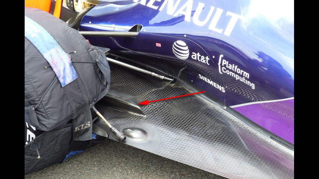 Red Bull - F1 Technik - GP England 2015