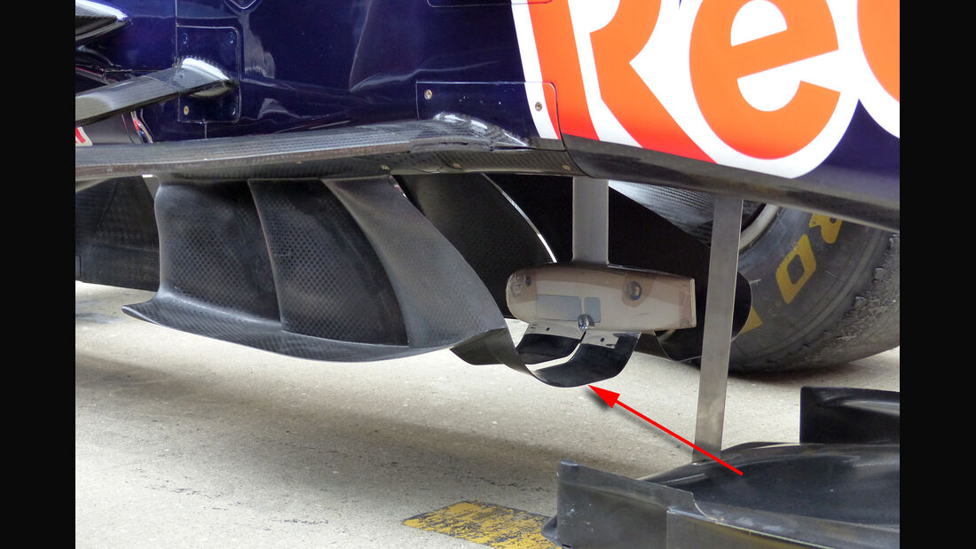 Red Bull - F1 Technik - GP England 2015