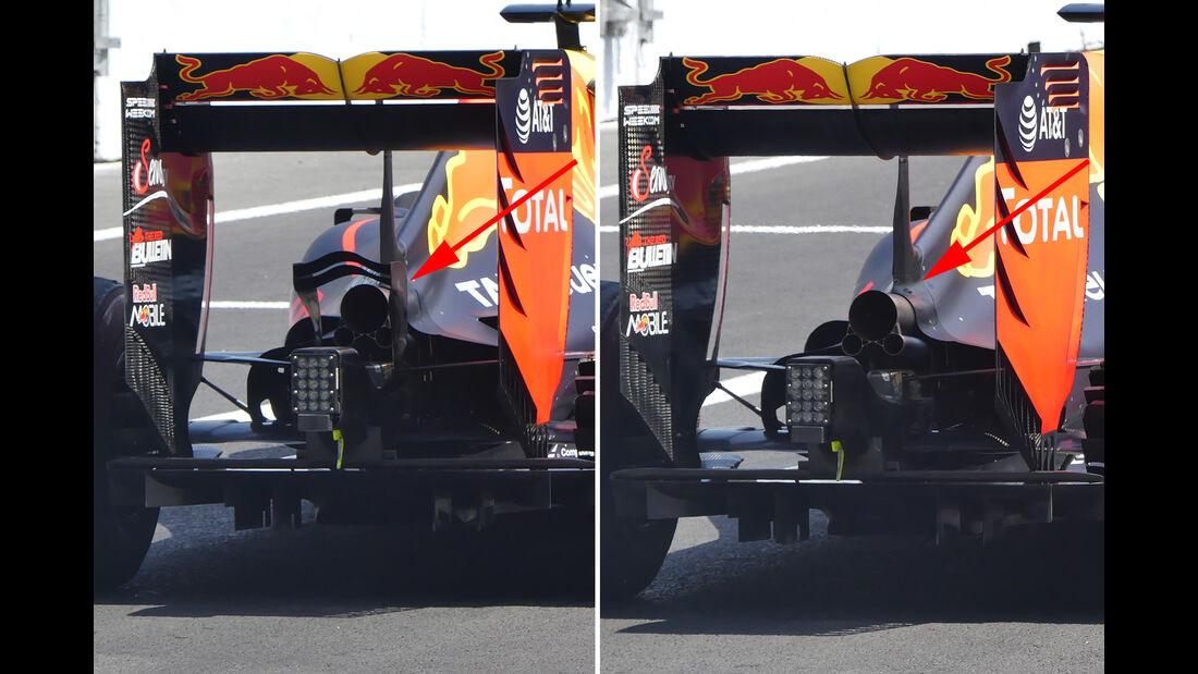 Red Bull - F1 Technik - GP Mexiko 2016