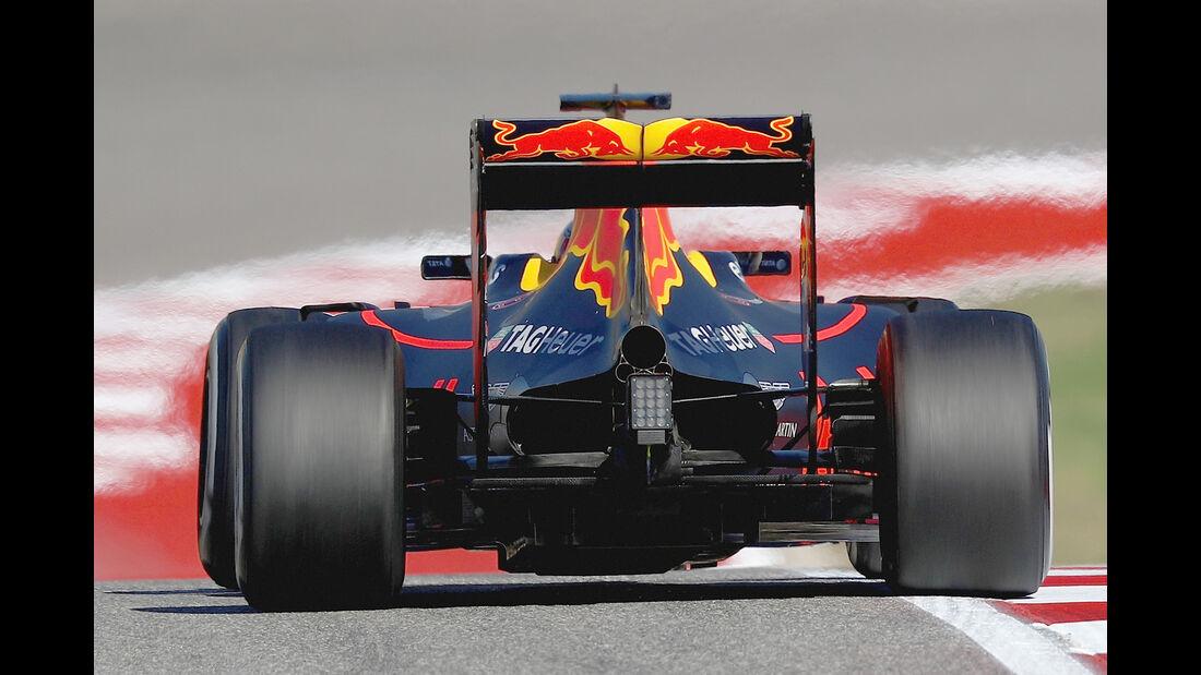 Red Bull - F1 Technik - GP USA 2016