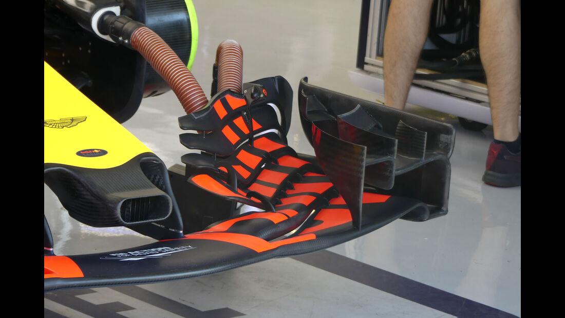 Red Bull - F1-Technik - GP Ungarn 2017 - Formel 1