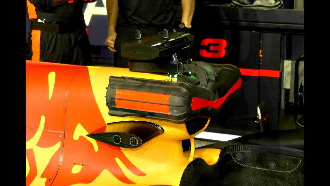 Red Bull - F1-Technik - Lüfter - GP Singapur 2018