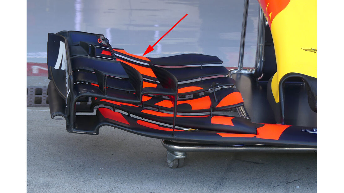 Red Bull - F1-Technik - Upgrades - GP Belgien / GP Italien 2017