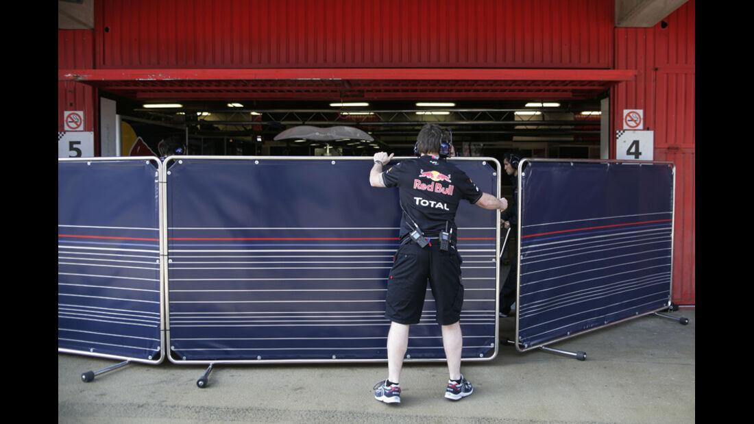 Red Bull F1-Test 2011