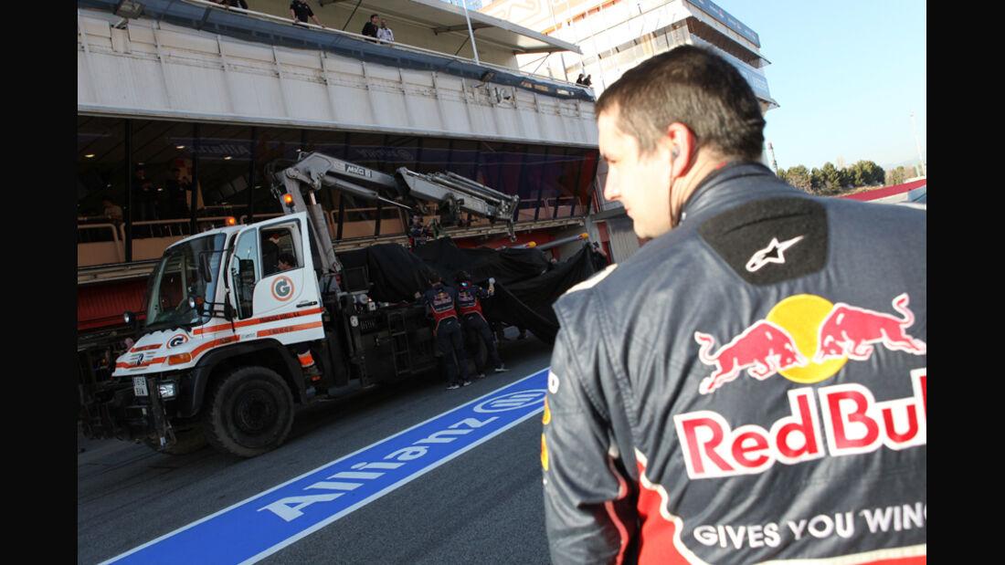 Red Bull - F1-Test - Barcelona 2012