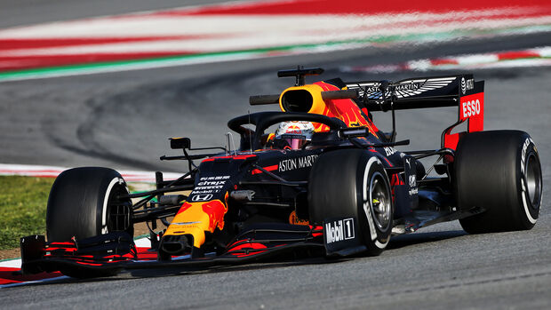 Red Bull - F1-Test - Barcelona - 2020