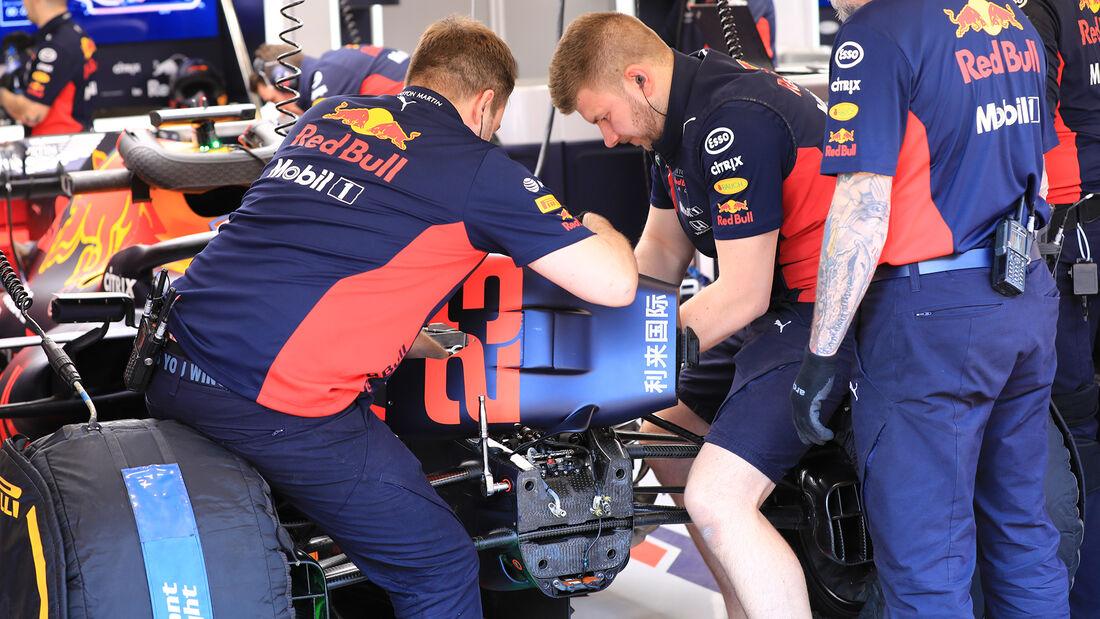 Red Bull - F1-Test - Barcelona - 21. Februar 2020