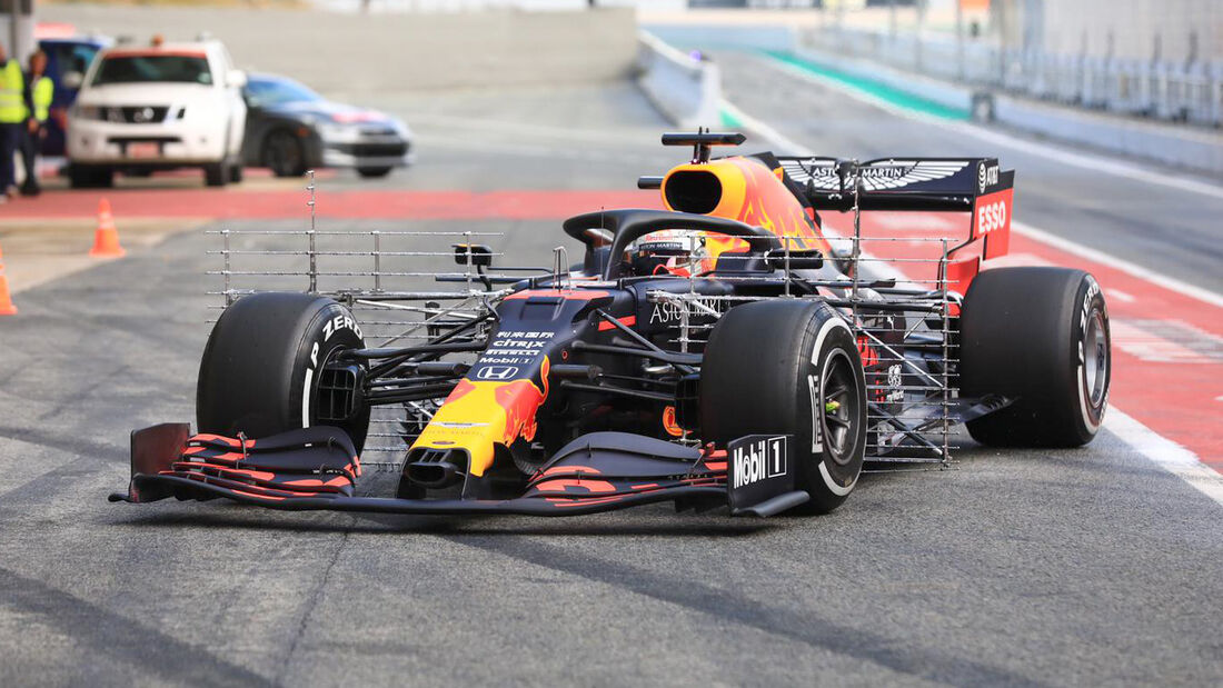 Red Bull - F1-Test - Barcelona - 27. Februar 2020