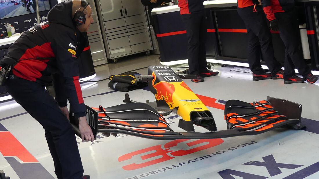 Red Bull - F1-Test - Barcelona - 28. Februar 2020