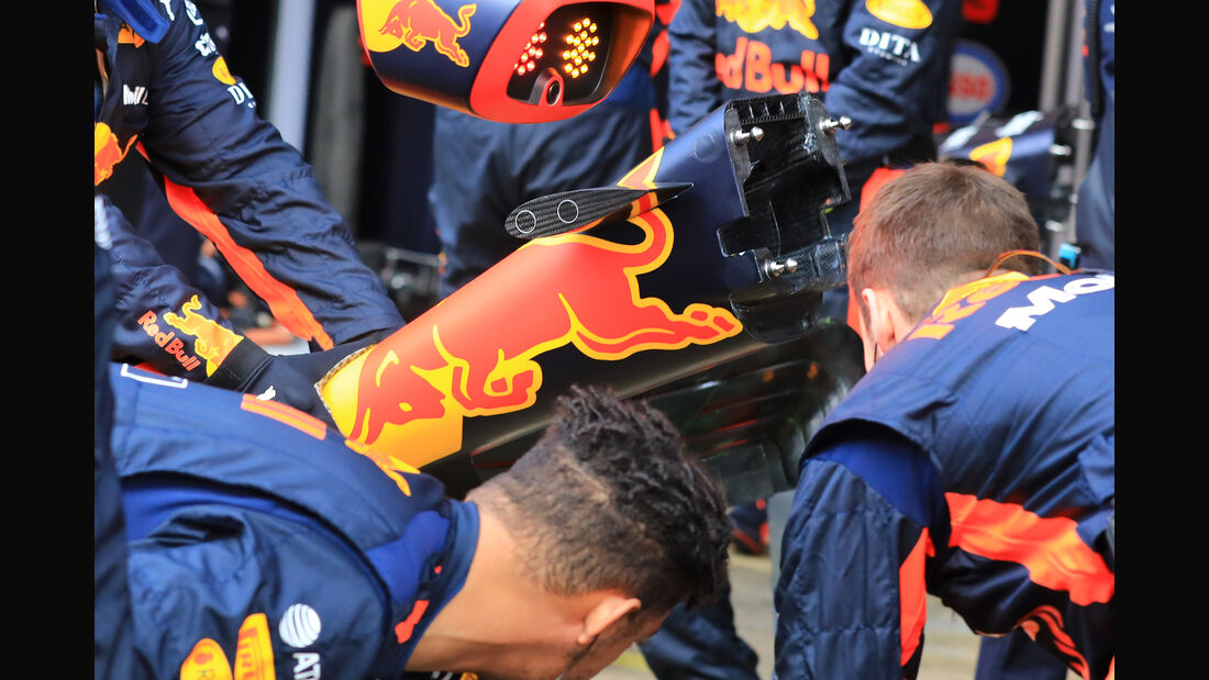Red Bull - F1-Test - Barcelona - Tag 7 - 8. März 2018