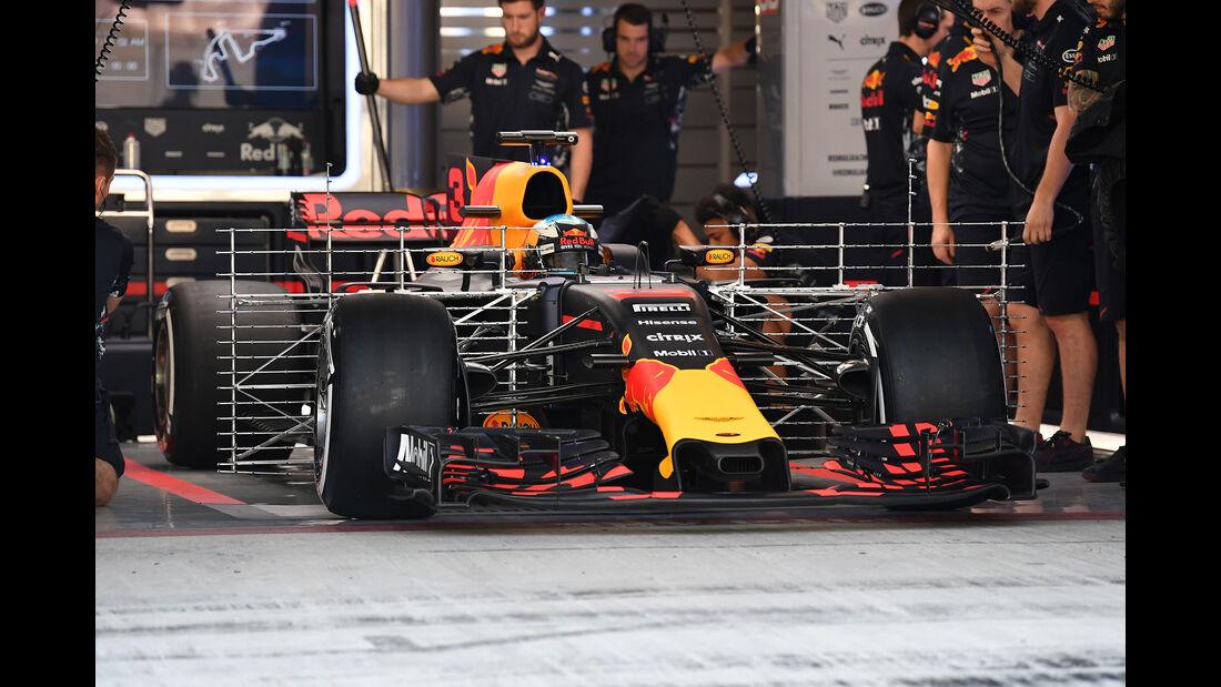 Red Bull - F1-Testfahrten - Abu Dhabi - 2017
