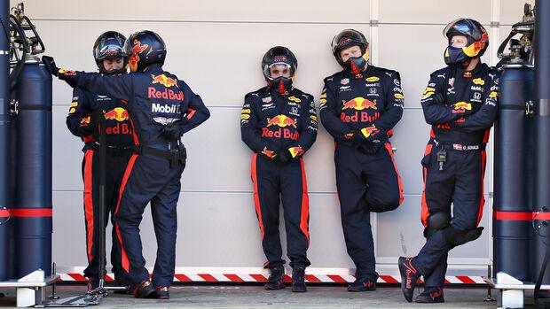 Red Bull - F1-Testfahrten - Barcelona - 2020