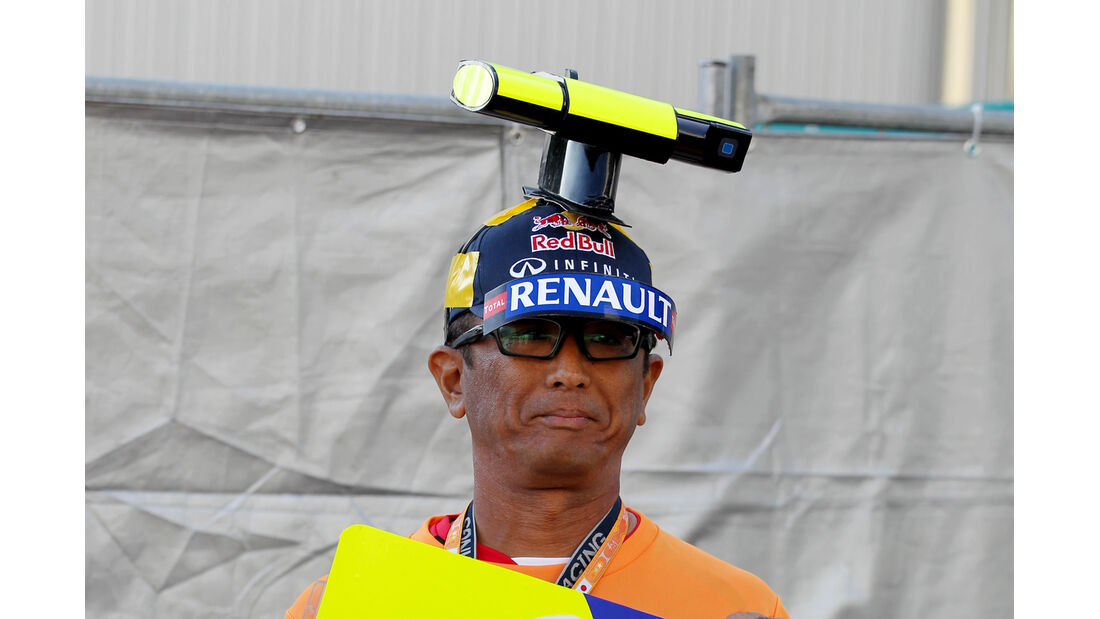 Red Bull-Fan - Formel 1 - GP Japan - 12. Oktober 2013