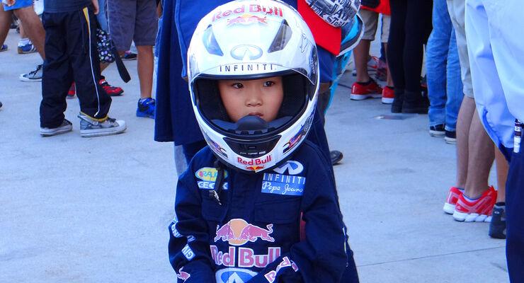 Red Bull-Fan - Formel 1 - GP Japan - Suzuka - 10. Oktober 2013