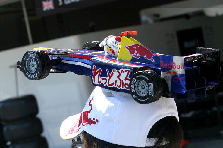 Red Bull-Fan - GP Japan - Suzuka - 6. Oktober 2011