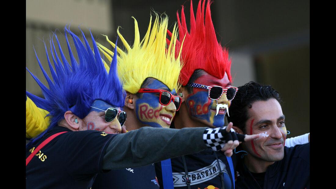 Red Bull Fans Formel 1 Austin GP USA 2012