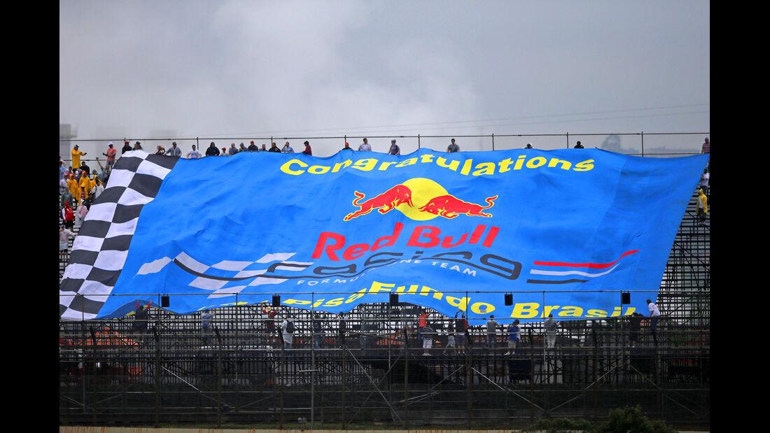 Red Bull-Fans - Formel 1 - GP Brasilien - 22. November 2013