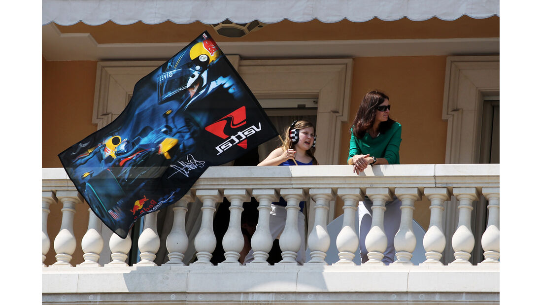Red Bull-Fans - Formel 1 - GP Monaco - 26. Mai 2012
