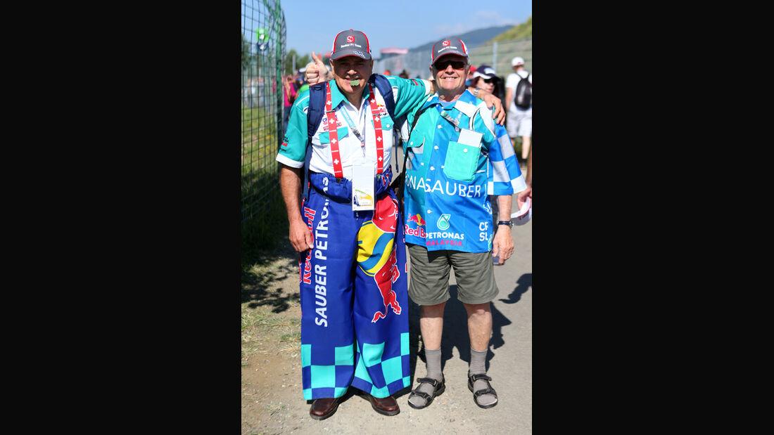 Red Bull-Fans - GP Österreich 2014
