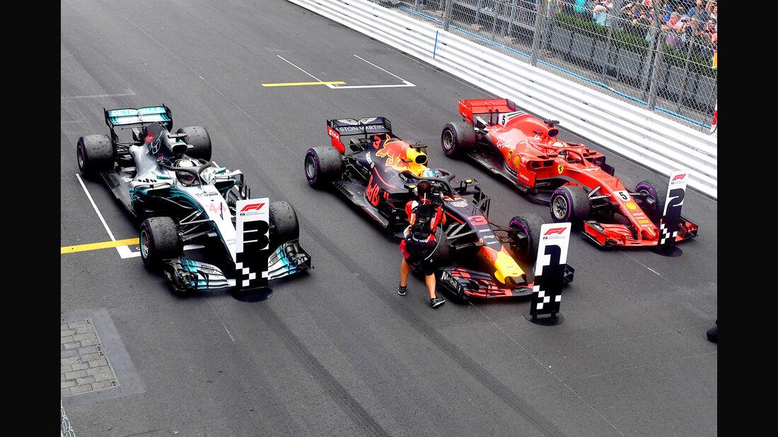 Red Bull, Ferrari & Mercedes - GP Monaco 2018
