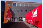 Red Bull & Ferrari-Truck - Formel 1 - GP Belgien - Spa-Francorchamps - 22. August 2013