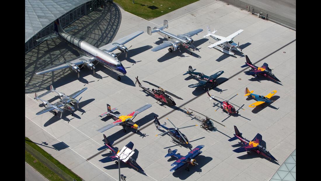 Red Bull Flying Bulls - Gruppenbild