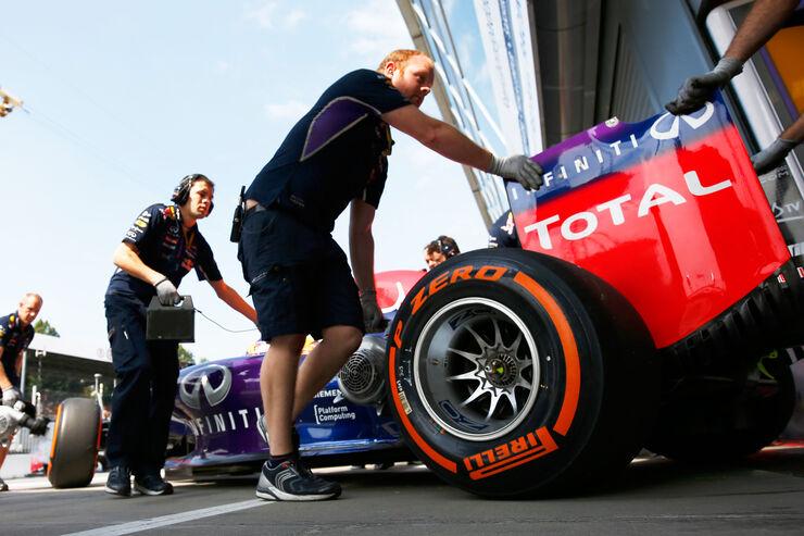 Red Bull - Formcheck - GP Italien 2014