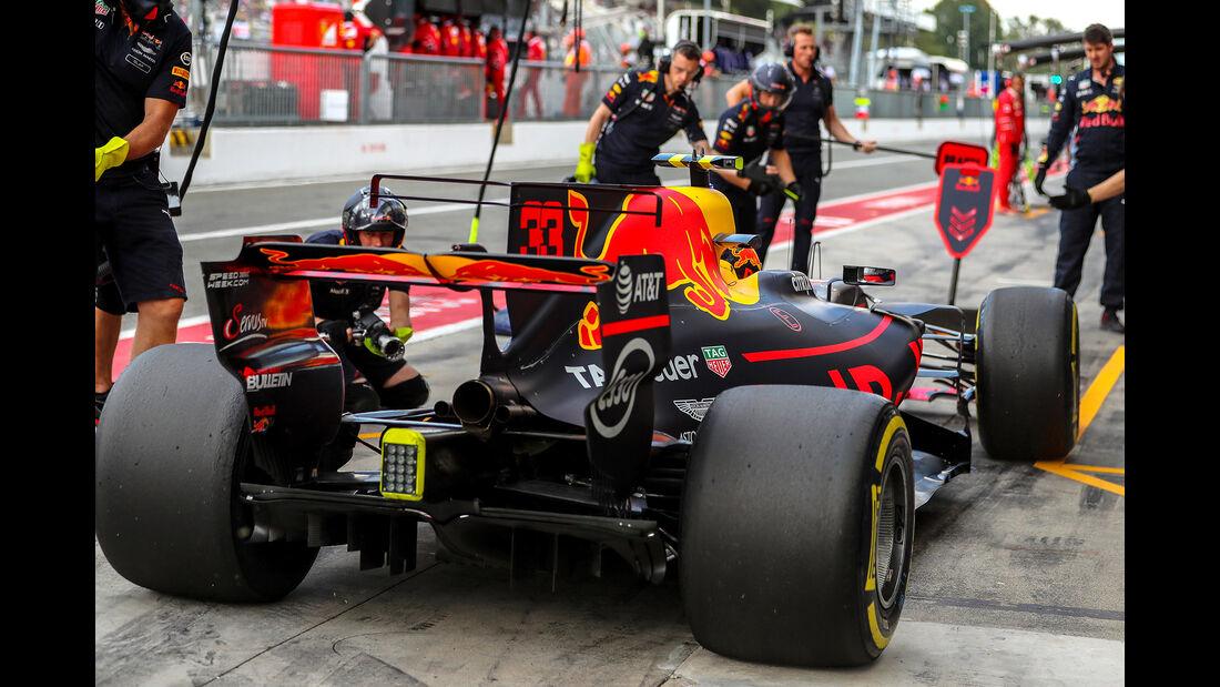 Red Bull - Formcheck - GP Italien 2017
