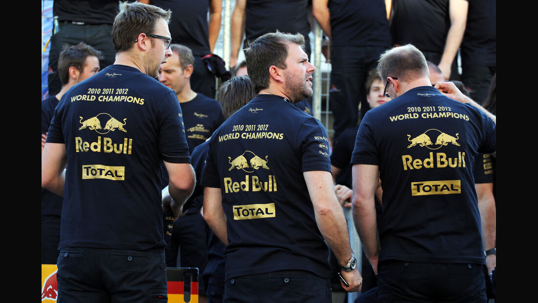 Red Bull Formel 1 Austin GP USA 2012