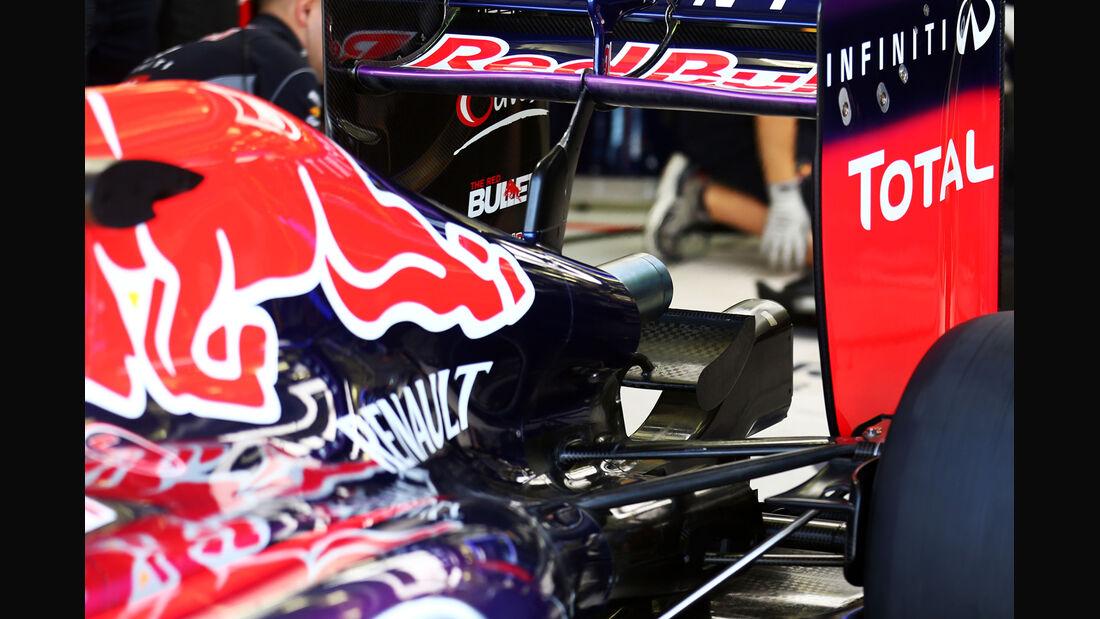 Red Bull - Formel 1 - Bahrain - Test - 2. März 2014