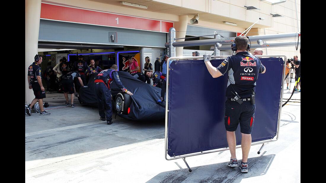 Red Bull - Formel 1 - Bahrain-Test 2014