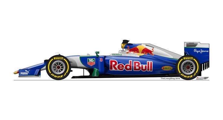 Red Bull - Formel 1 Design Concepts 2016