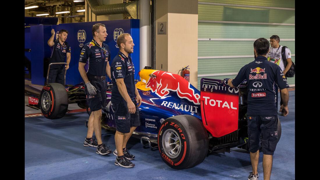 Red Bull - Formel 1 - GP Abu Dhabi - 22. November 2014
