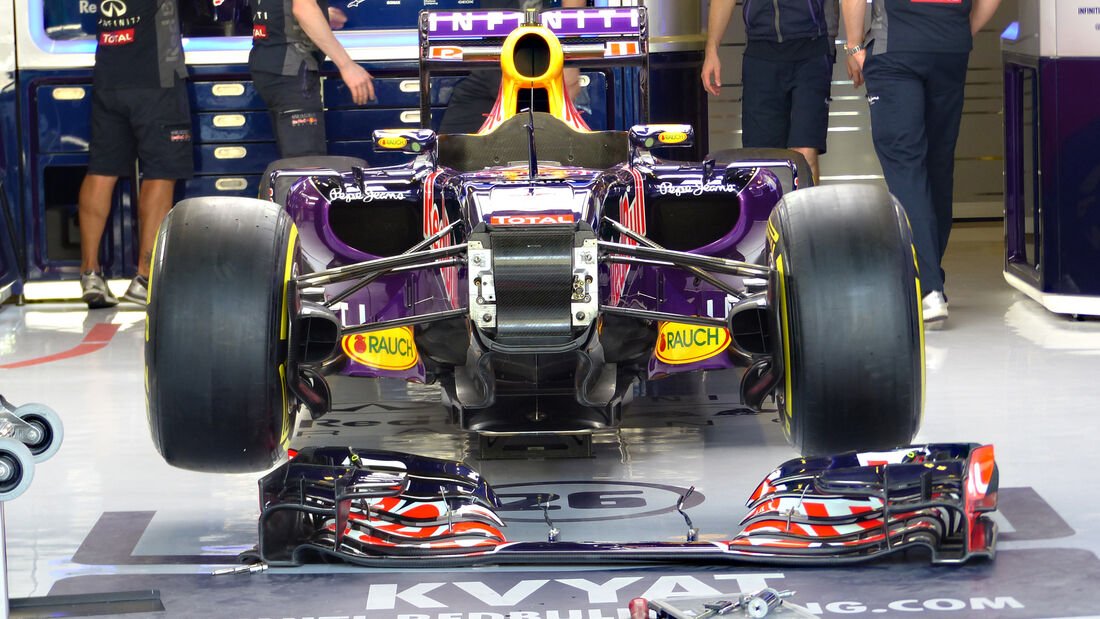 Red Bull - Formel 1 - GP Abu Dhabi - 26. November 2015