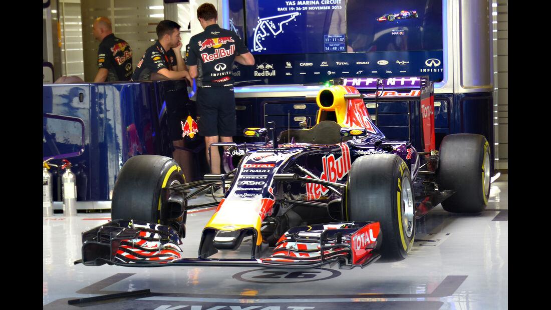 Red Bull - Formel 1 - GP Abu Dhabi - 26. November 2015