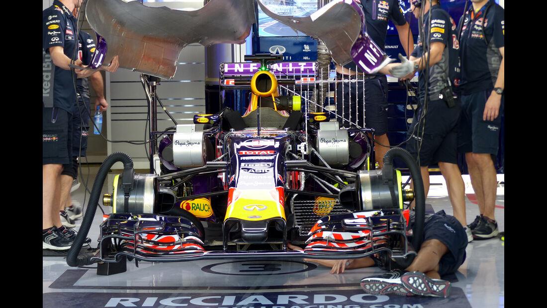 Red Bull - Formel 1 - GP Abu Dhabi - 27. November 2015