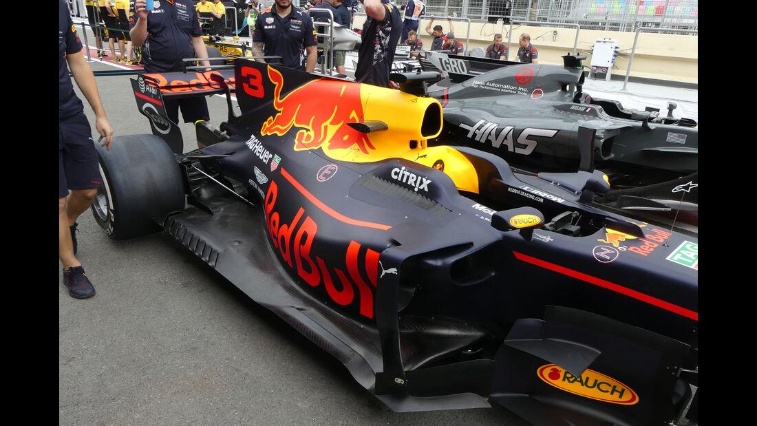 Red Bull - Formel 1 - GP Aserbaidschan 2017 - Baku - Donnerstag - 22.6.2017