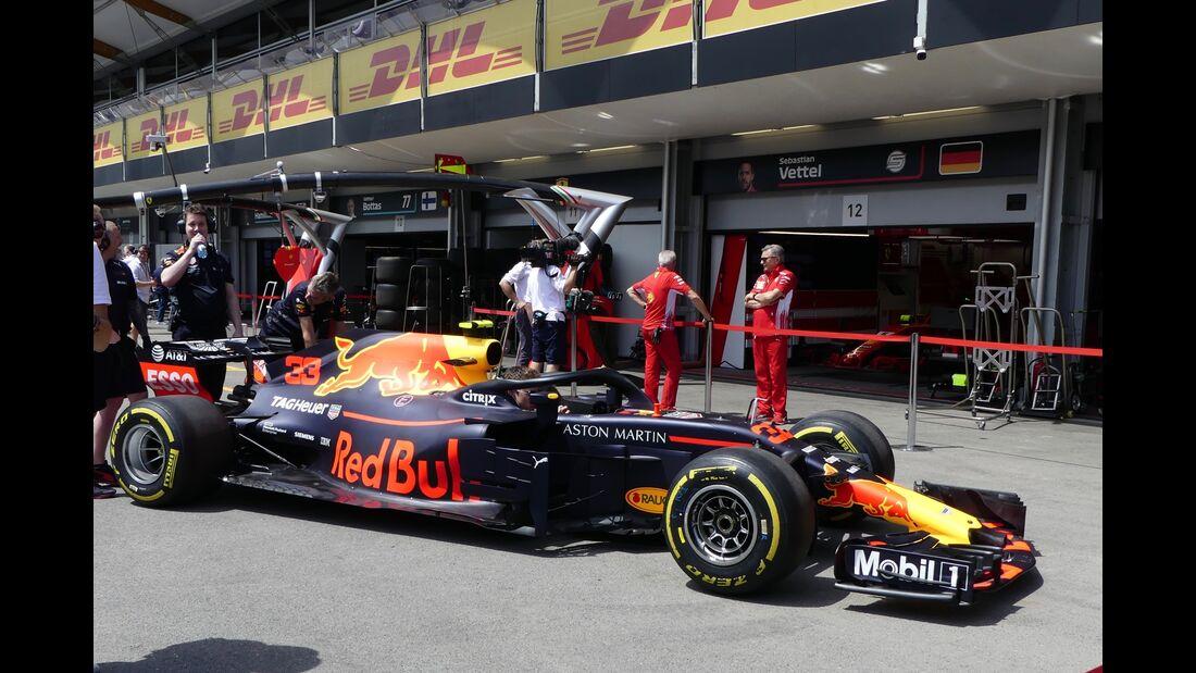 Red Bull - Formel 1 - GP Aserbaidschan - 27. April 2018
