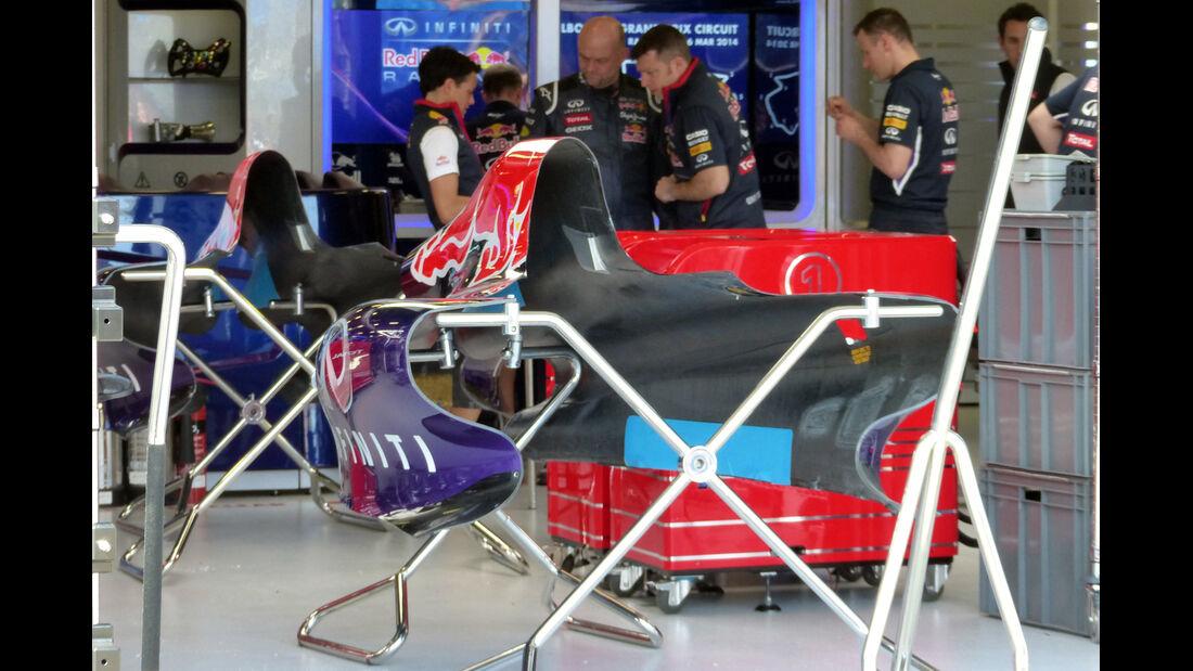 Red Bull - Formel 1 - GP Australien - 13. März 2014
