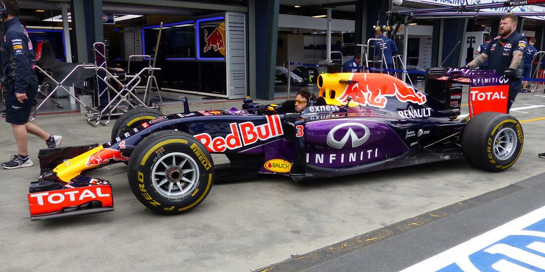 Red Bull - Formel 1 - GP Australien - 13. März 2015