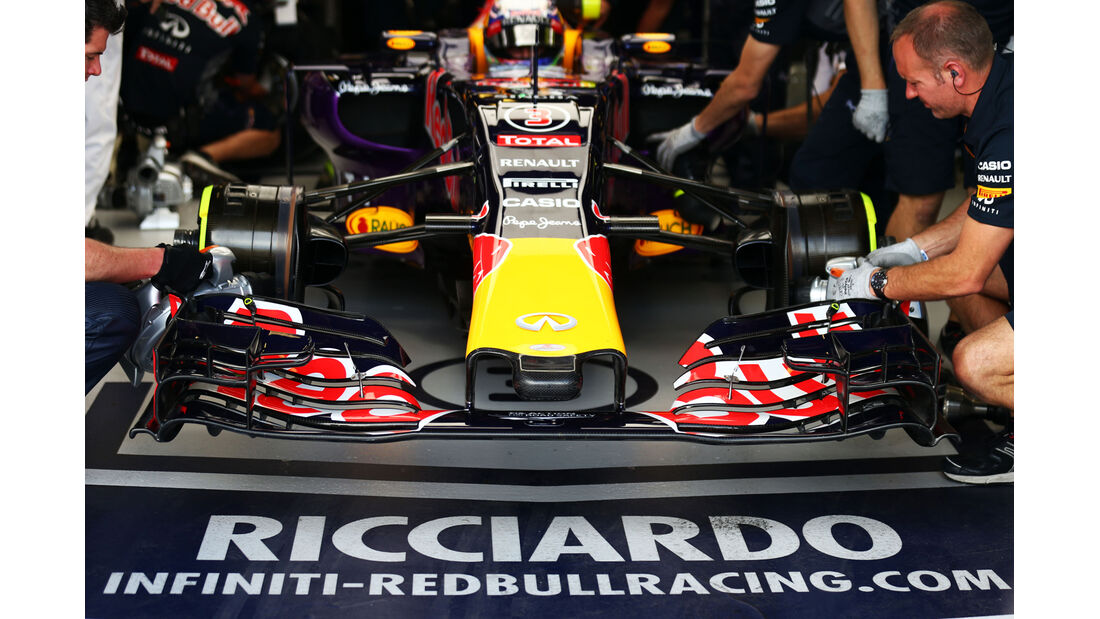 Red Bull - Formel 1 - GP Australien - Melbourne - 14. März 2015