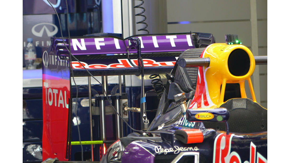 Red Bull - Formel 1 - GP Bahrain - 16. April 2015