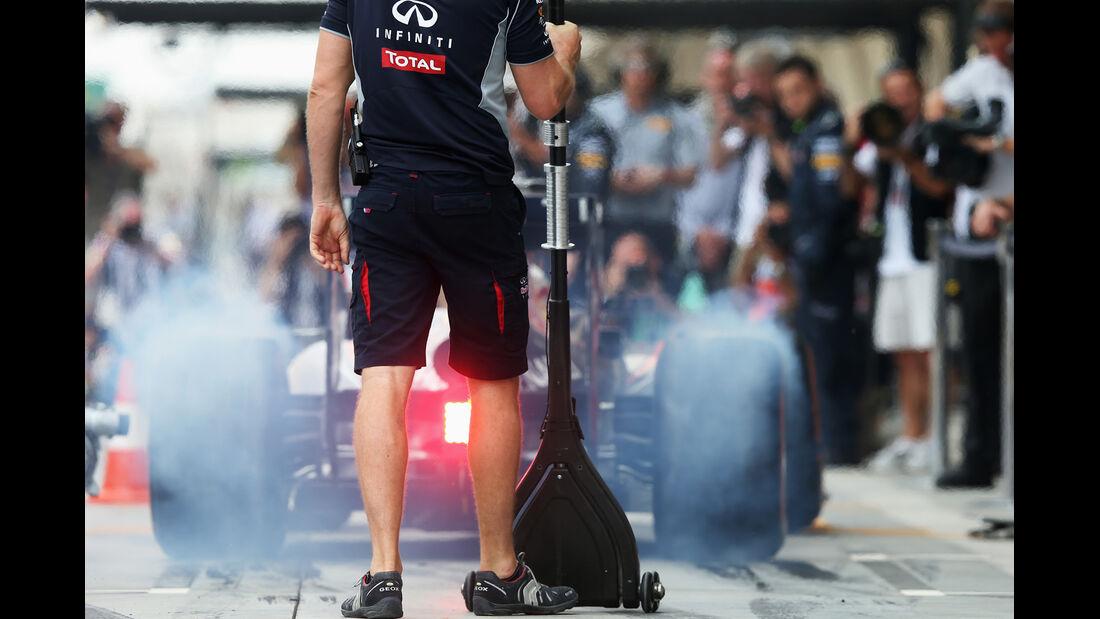 Red Bull - Formel 1 - GP Bahrain - 19. April 2013