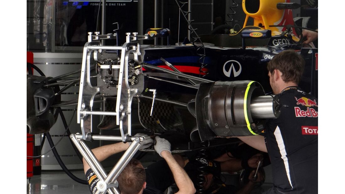 Red Bull - Formel 1 - GP Bahrain - 20. April 2012