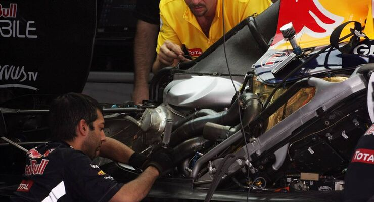 Red Bull - Formel 1 - GP Bahrain - 21. April 2012