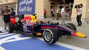 Red Bull - Formel 1 - GP Bahrain - Sakhir - 3. April 2014